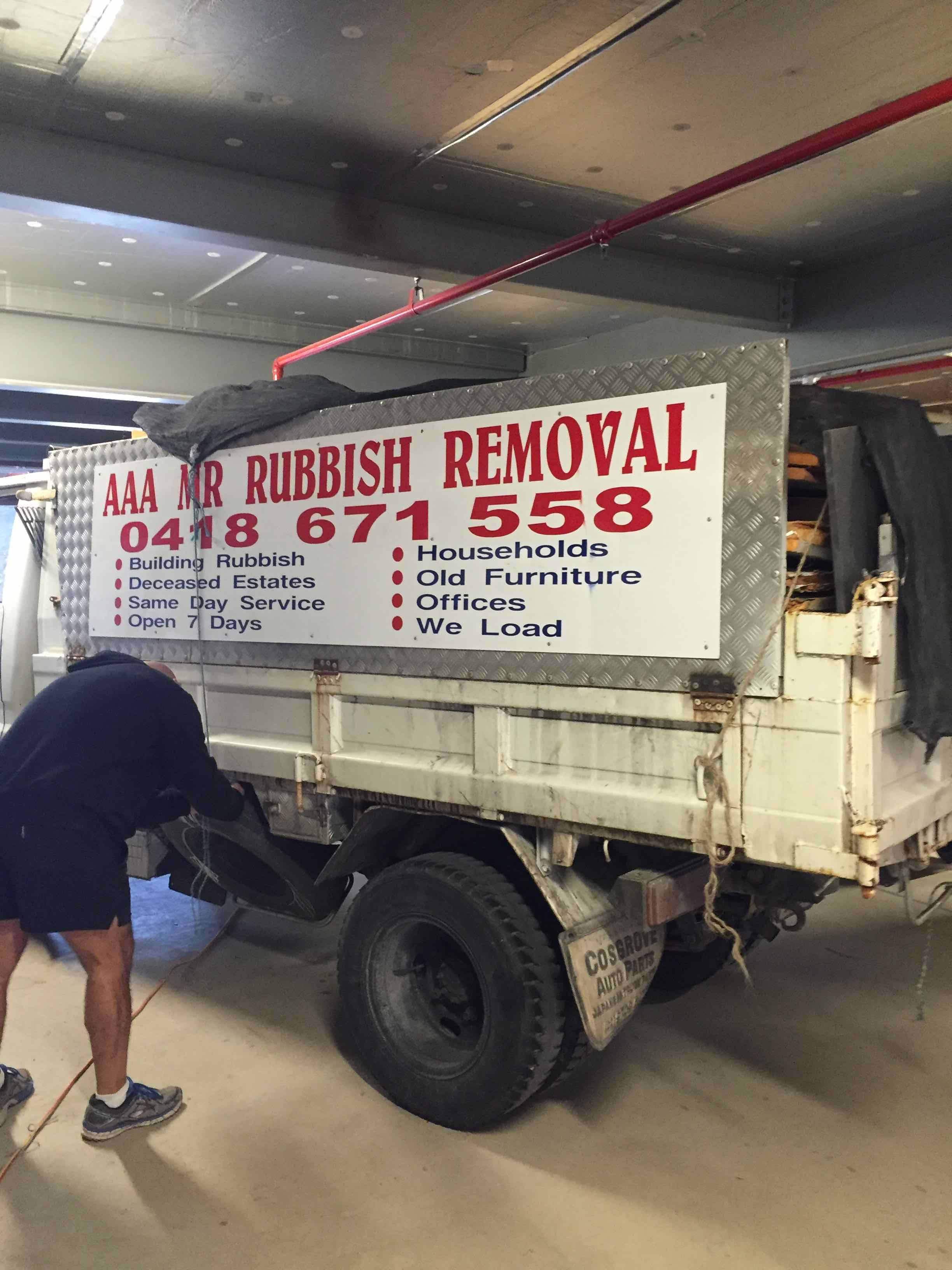 Moving House – Rushcutters Bay – Don't take your Junk with you
